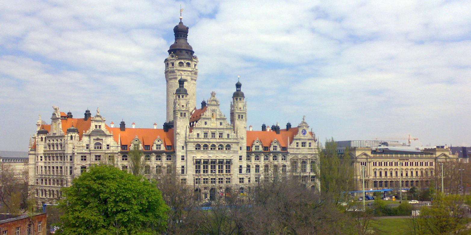 Leipzig town hall